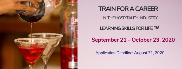 Train for a career in the hospitality industry!