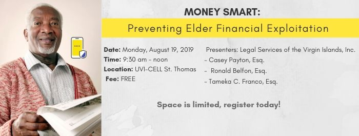 Learn how to prevent our seniors from being exploited!