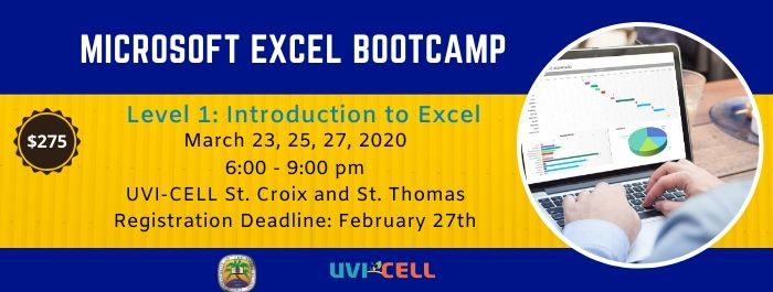 Learn how to take advantage of the many features of Excel!